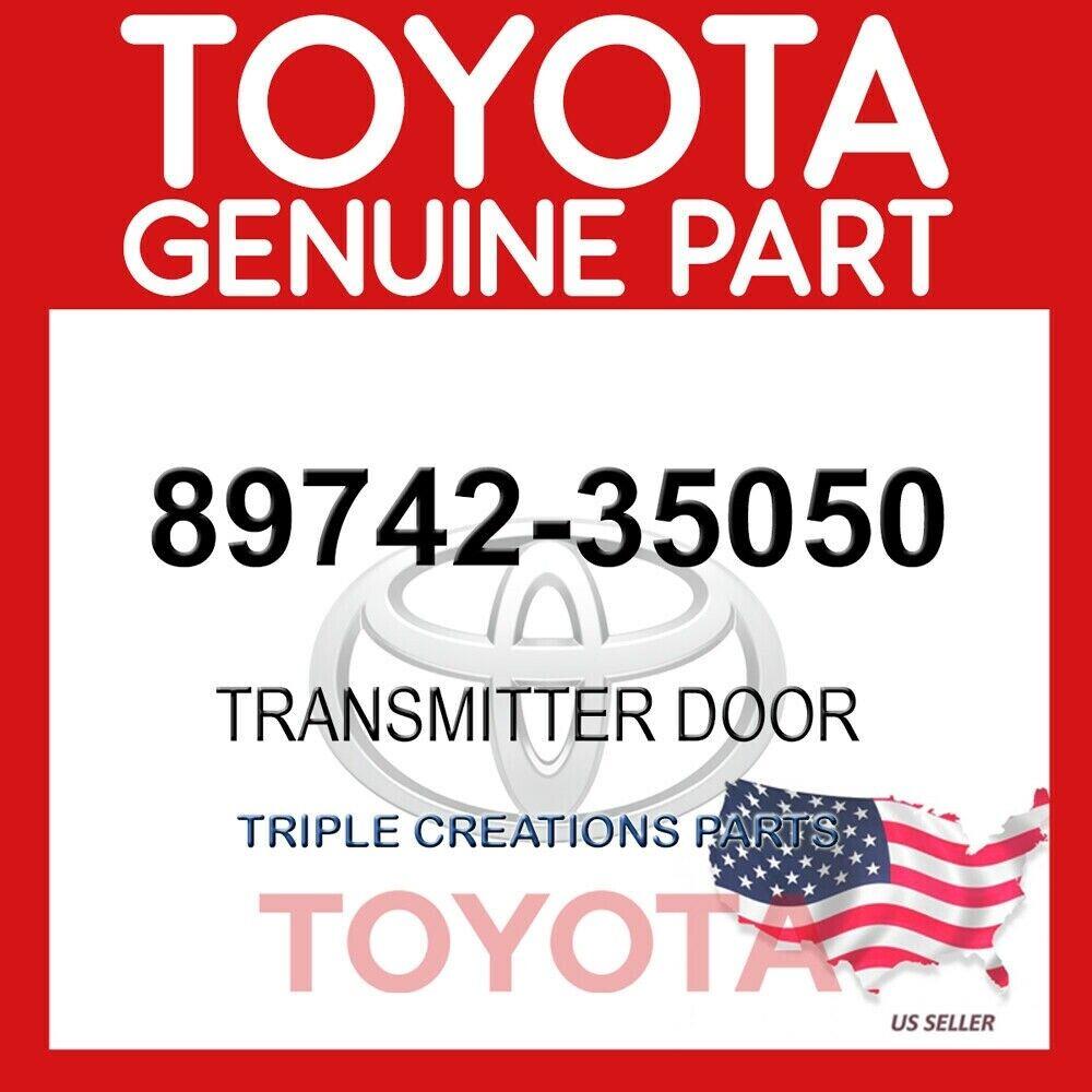 GENUINE OEM TOYOTA TRANSMITTER DOOR 89742-35050