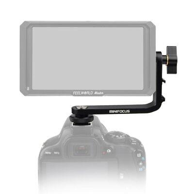 Tilt Arm Shoe Mount L Bracket DSLR Camera Monitor Mounts 5 inch & 5.5inch