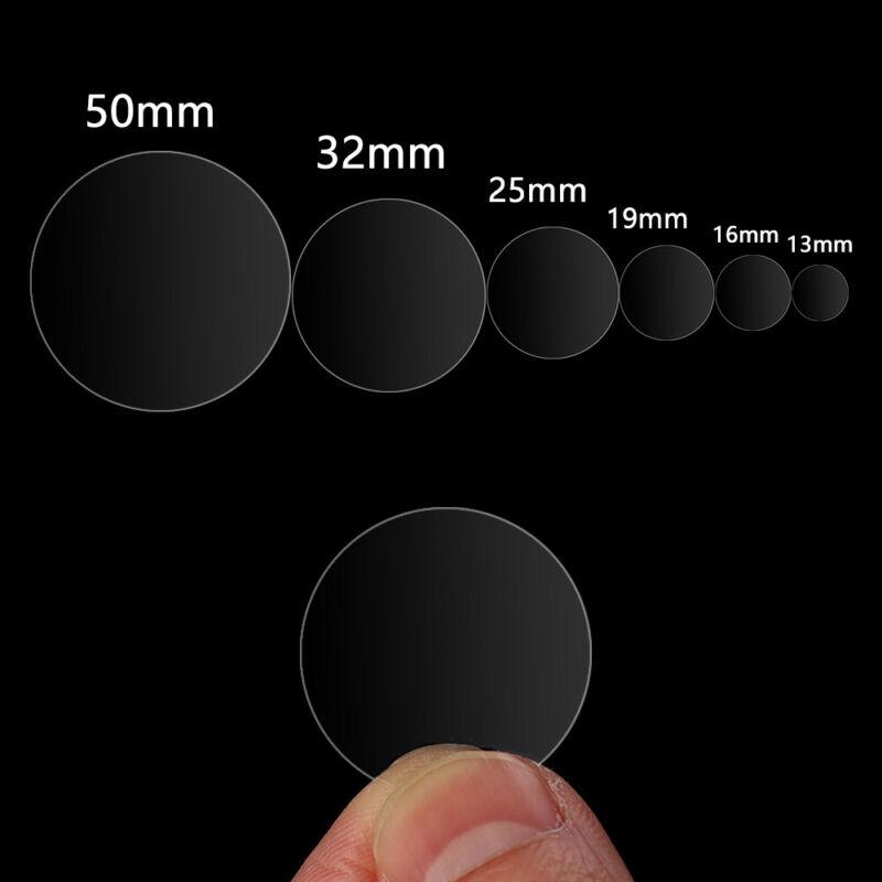 New Wafer Round Gloss Transparent Self Adhesive Label File Sealing Dot Sticker