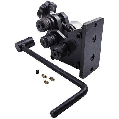Ring Roller Manual Metal Bar Tube Flat Bender Machine 13-12 Handle Length