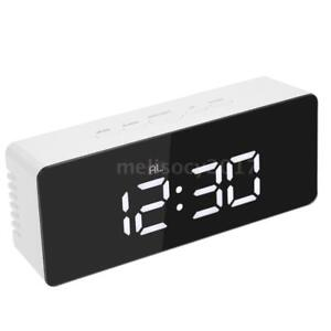 Digital LED Display Alarm Clock USB & Battery Operated Mirror Face Design P3F8
