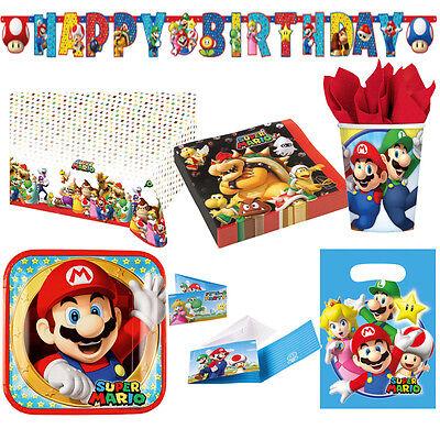 ndergeburtstag Auswahl Deko Party Dekoration Luigi NEU (Mario Bros Party Dekorationen)