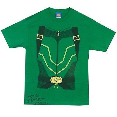 Green Arrow Costume Justice League New 52 DC Comics Licensed Adult T - Green Arrow Adult Costume