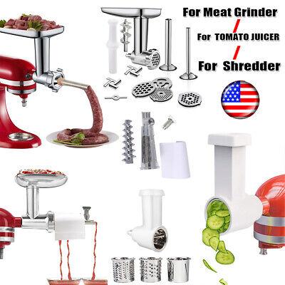Meat Grinder Attachment For KitchenAid Stand Mixer/Tomato Juicer/Slicer Shredder Kitchenaid Mixer Grinder Attachment