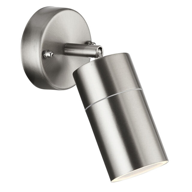 Searchlight 6411ss-LED Stainless Steel Outdoor Directional Wall Light IP44
