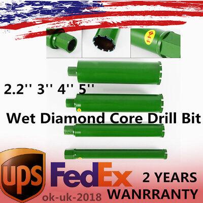 2.2 3 4 5wet Diamond Core Drill Bit For Concrete Series Premium Green 4x