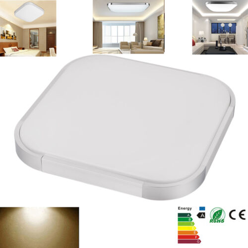 Modern 24w 30cmx30cm Square Led Ceiling Light Led Ceiling: Modern Living Room LED Ceiling Light Fixture 24W Square