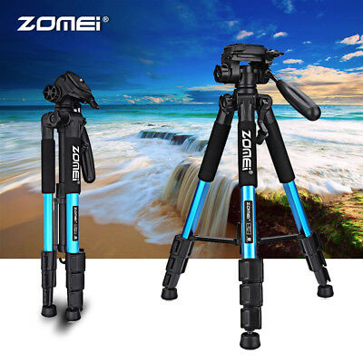 Q111 Professional Portable Aluminum Tripod Stand Flexible For Canon Nikon Camera