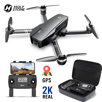 Holy Stone HS720 FPV Drone 2K HD Camera GPS Quadcopter Brushless GPS with case