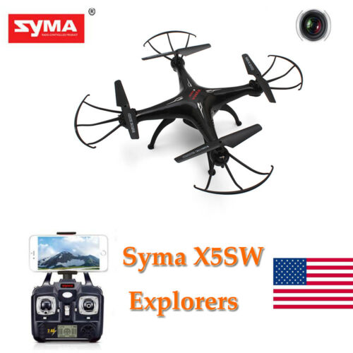 Syma X5SW Explorers 2 2.4GHz 6Axis 4CH WiFi FPV RC Quadcopter Drone 0.3MP HD Cam