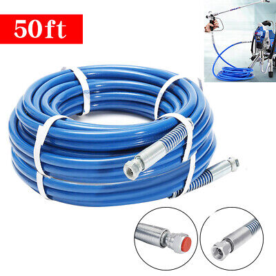 "Used, 50ft /15M 1/4"" Airless Paint Spray Hose Tube 3300PSI For Wagner Titan Tool for sale  Rancho Cucamonga"