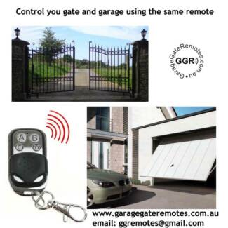 Combine your automatic gate and garage on the one remote control Kingsford Eastern Suburbs Preview