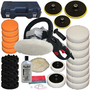 Car Polisher Sander Polishing Machine 1500 Watt + XXL Sponge Kit + Nano Polish