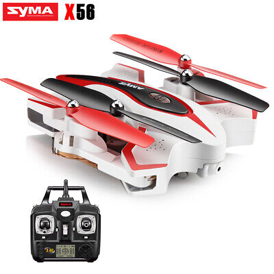 RC Drone Fordable Quadcopter Syma X56 2.4Ghz 4CH Altitude Hold Helicopter Toy