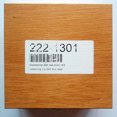 Sale Haake Rheometer 222-1301 Measuring Cup Z40 188 Ss Rheostress Rsxxx Mars