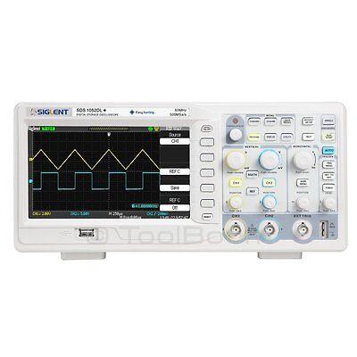 Siglent Sds1052dl 2-channel Digital Oscilloscope 50 Mhz 500 Msas 32 K