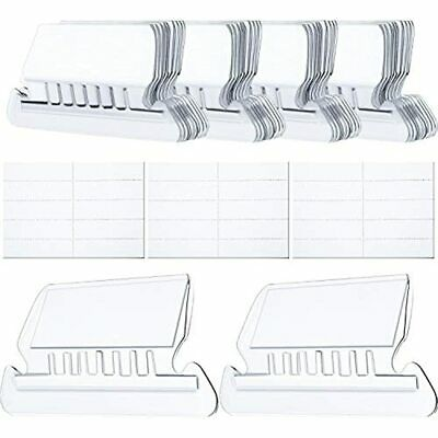 Hanging Folder Tabs And Inserts For Organize Distinguish Files 2 Inch Clear To