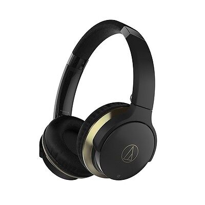 New Audio-technica Bluetooth Wireless Headphones ATH-AR3BT-BK Free Shippng Japan