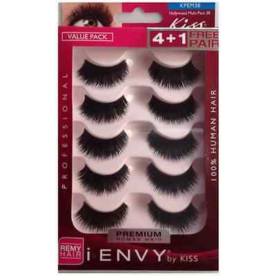 KISS i.envy Multi-Pack Professional Eyelashes 5 ea