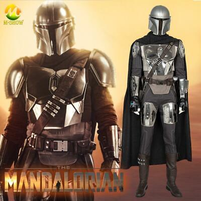 Halloween Costume Armor (The Mandalorian Cosplay Costume Halloween Superhero Mandalorian Armor Outfit)