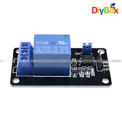12510pcs 1 Channel Isolated 5v Relay Module Coupling For Arduino Optocoupler