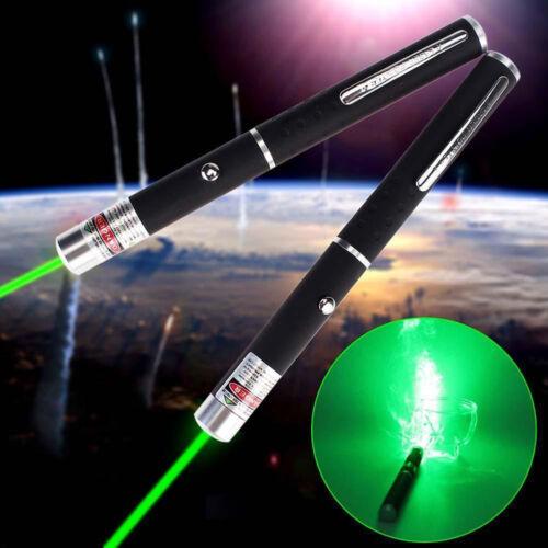 2pcs 5mW Laser Powerful Green Laser Pointer Pen Beam Light High Power 532nm