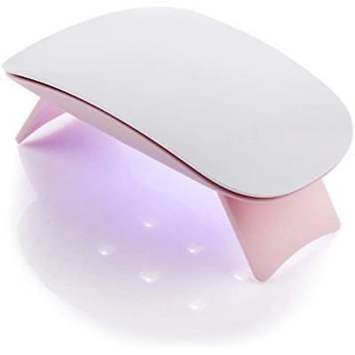 Makartt 6W LED UV Nail Dryer Curing Lamp 60S Timer USB Porta