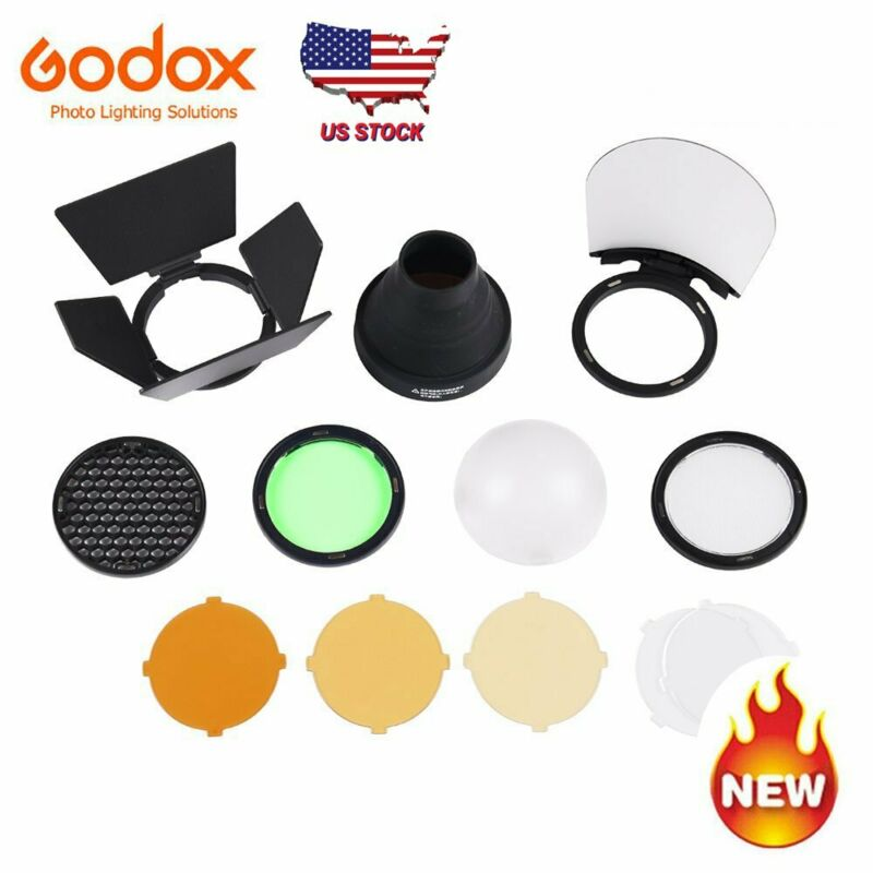 Godox AD200 AD200pro TTL 2.4G Pocket Flash Speedlite Accessories AK-R1 US