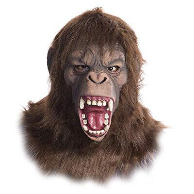 Deluxe Cäsar Dawn Of The Planet Apes Schimpanse Erwachsene mit Kapuze Halloween