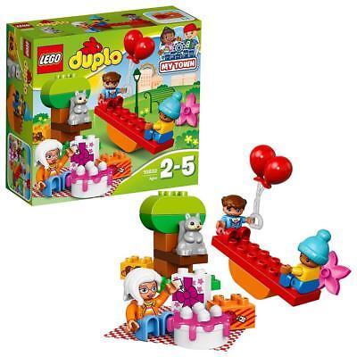 LEGO Duplo 10832 Geburtstags-Picknick Kinder Bauset Spielzeug Für Mädchen ab 2  (Mädchen Spielzeug Lego)