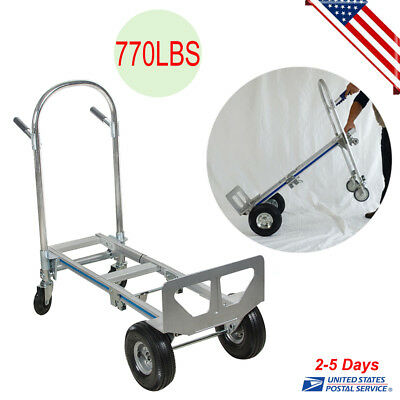 770lb Heavy Duty Stair Climbing Moving Dolly Hand Truck Warehouse Appliance Cart