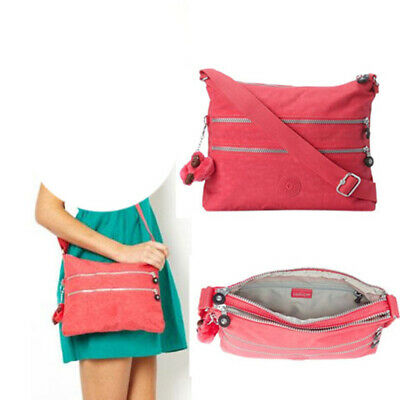 Kipling Women's Alvar Crossbody, HB4061 Vibrant Pink, 2-Day-Shipping