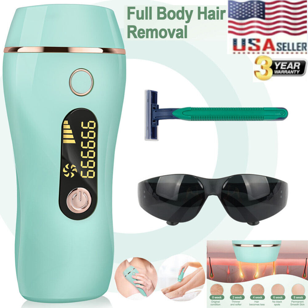 999999 IPL Laser Hair Removal Epilator Permanent Body Electr