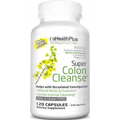 Super Colon Cleanse Stimulant Laxative 140 mg Capsules - 120