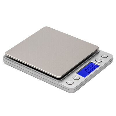 3KG/0.1g tainless Steel Jewelry Electronic Digital Scale Kitchen Cooking Scale