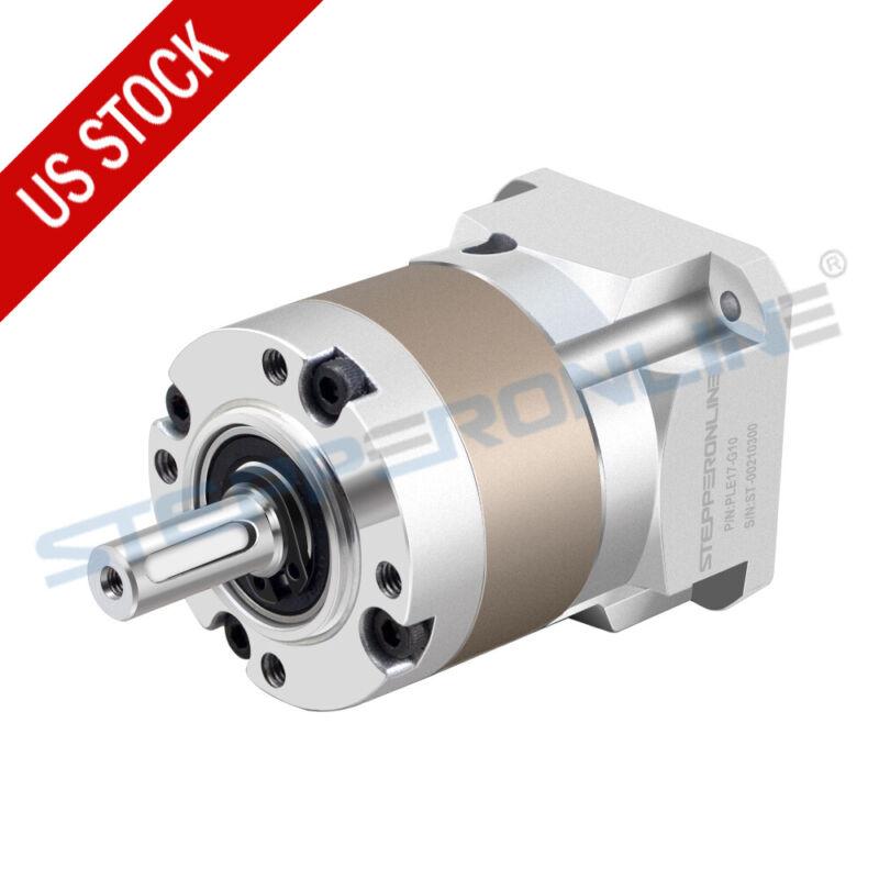 Nema 17 Planetary Gearbox Speed Reducer 5:1/10:1/50:1/100:1 5mm Input Shaft