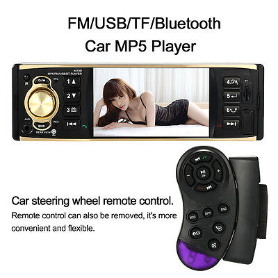 Car Stereo Audio MP5 Player Rear View Camera Function Radio FM Tuner Bluetooth