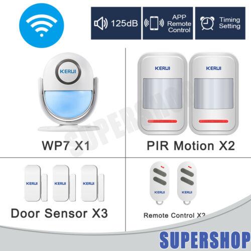 WiFi PIR Infrared Motion Detector Sensor Home Burglar Alarm