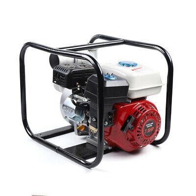 7.5hp 210cc Gas Water Transfer Pump Kit Portable Engine 3 Intake 60m3h Max.40m
