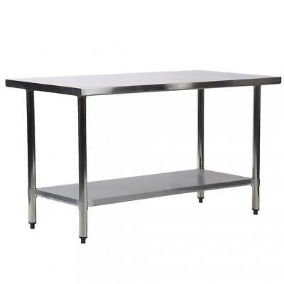 24x60 Stainless Steel Kitchen Work Table Commercial Kitchen Restaurant Table