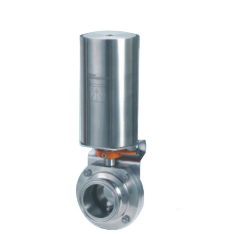 """1.5"""" / 38mm Triclamp Sanitary butterfly valve pneumatic actuator SS304"""