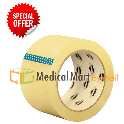36 Rolls - 2 Inch X 100 Yards 300 Ft Clear Carton Sealing Packing Package Tape