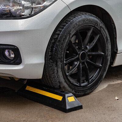 22 Rubber Curb Parking Block Car Rv Trailer Wheel Tire Stopper Garage Driveway