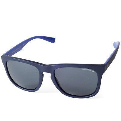 0499a8326c  89.95 - Armani Exchange AX4058S 819887 Matte Navy Blue Grey Men s Classic  Sunglasses