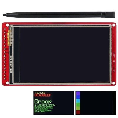 3.0 Tft Lcd Touch Screen Breakout Board Wtouch Pen For Arduino Uno R3nano Gl