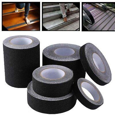 1246 Black Roll Safety Anti-slip Non Skid Safe Grit Tape Grip Sticker