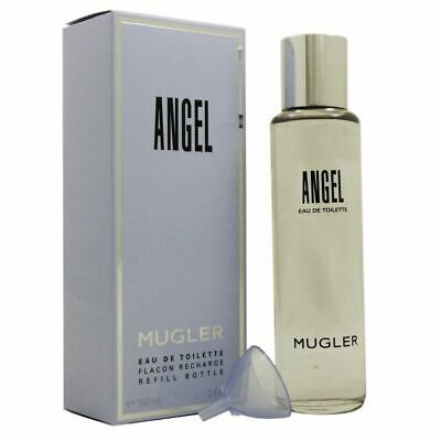 Angel Edt Spray Refill (Thierry Mugler Angel 100 ml Eau de Toilette EDT Refill Flacon Nachfüller Recharg)