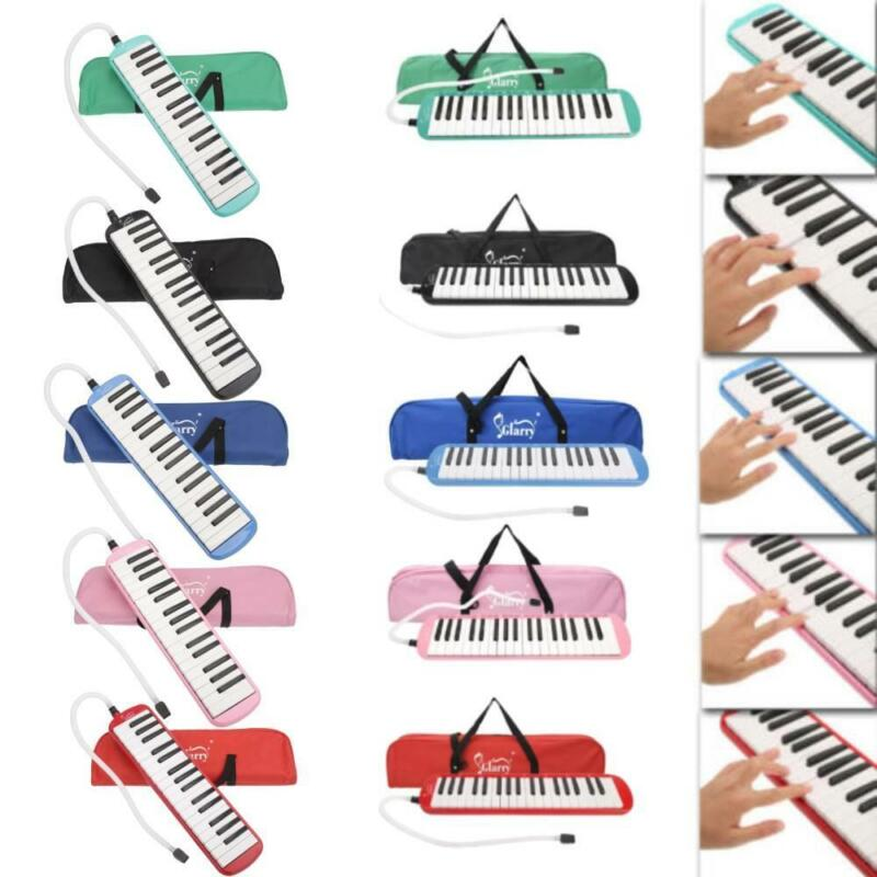 32/37 Key Melodica Instrument with Blowpipe Mouthpiece Air Piano Keyboard Bag