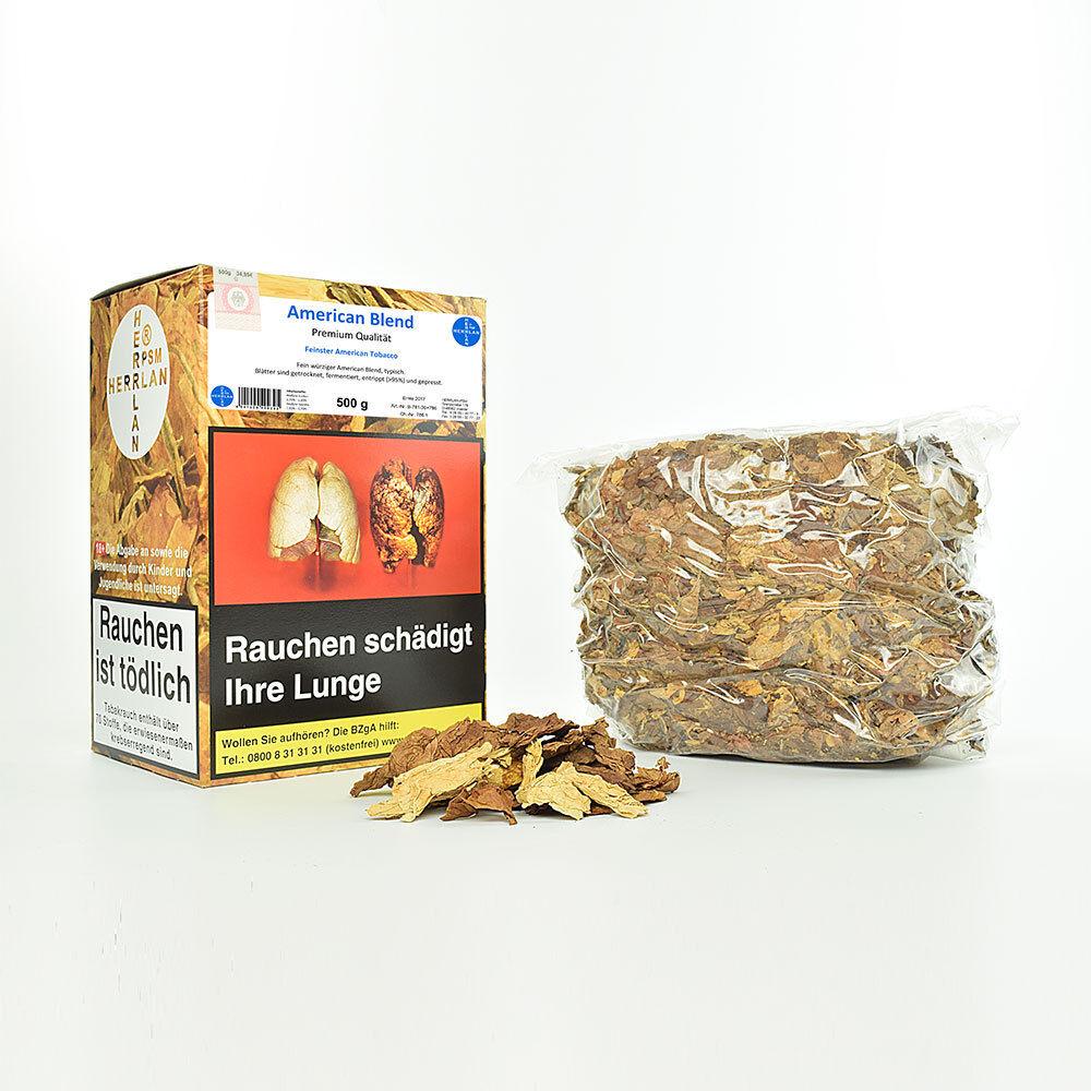 American Blend Strips Rohtabak entrippt / Tabakblätter, Virginia Herrlan®