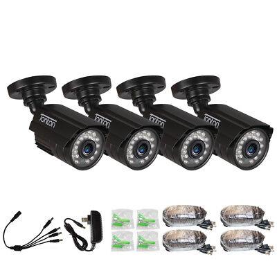 Tonton 1000TVL CCTV Security Home Camera 3.6mm 65ft IR Cut Day Night Metal IP66 Day Night Security Camera